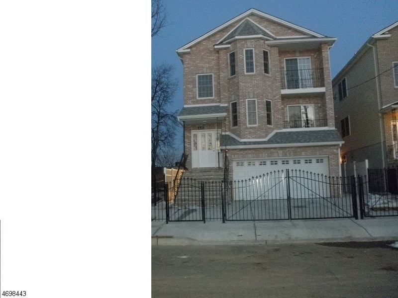 Single Family Home for Rent at 157-159 BELLAIR Place Newark, New Jersey 07104 United States