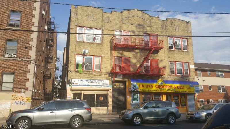 Commercial for Sale at 423-425 JEFFERSON Avenue Elizabeth, New Jersey 07201 United States
