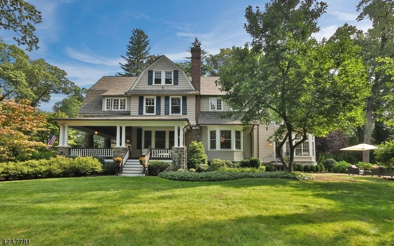 Single Family Home for Sale at 93 Rensselaer Road Essex Fells, New Jersey 07021 United States