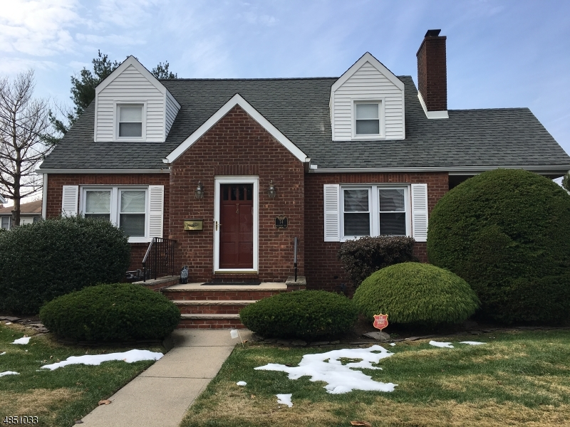 Single Family Home for Sale at 74 ROSEMONT Avenue Elmwood Park, New Jersey 07407 United States
