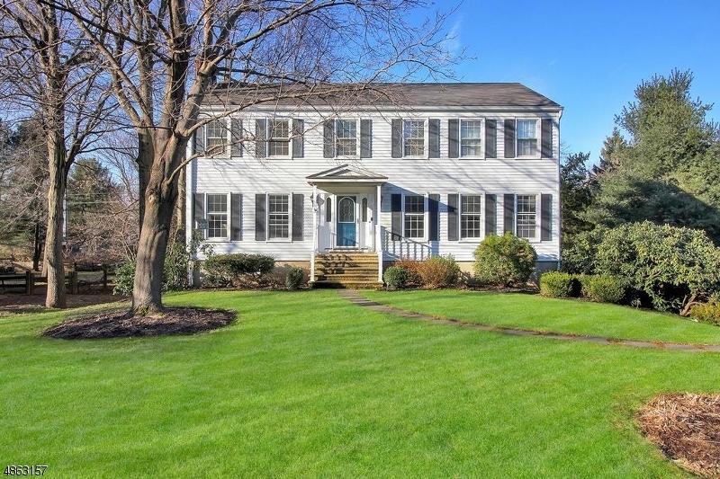 Частный односемейный дом для того Аренда на 55 DYCKMAN Place Bernards Township, Нью-Джерси 07920 Соединенные Штаты