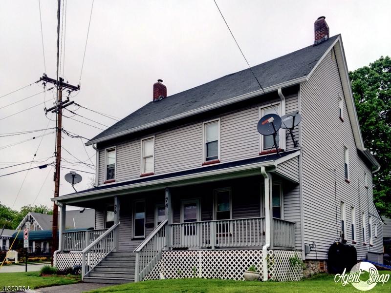 Многосемейный дом для того Продажа на 74-76 CHURCH Street Franklin, 07416 Соединенные Штаты