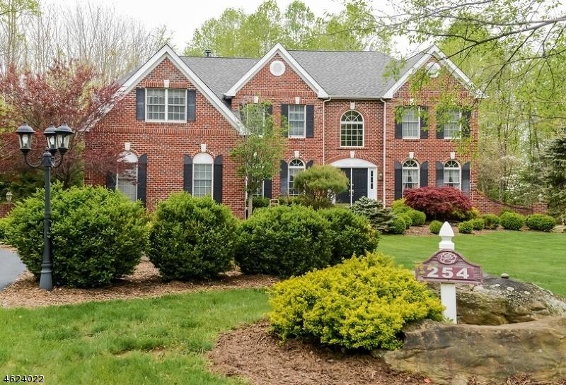 Maison unifamiliale pour l Vente à 254 Pleasant Grove Road Long Valley, New Jersey 07853 États-Unis