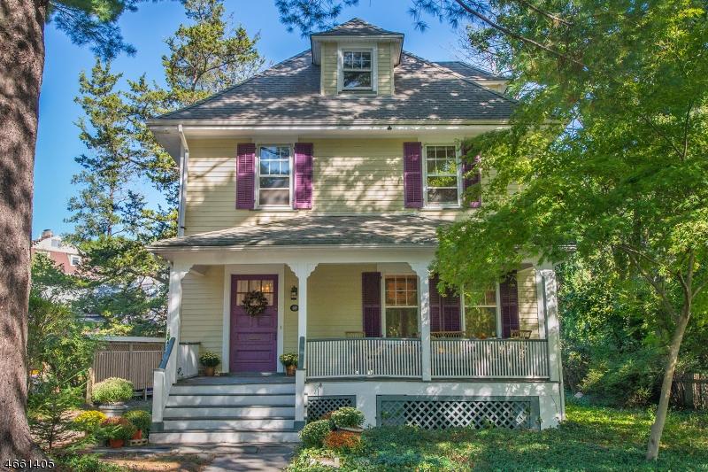 Maison unifamiliale pour l Vente à 167 Orange Road Montclair, New Jersey 07042 États-Unis