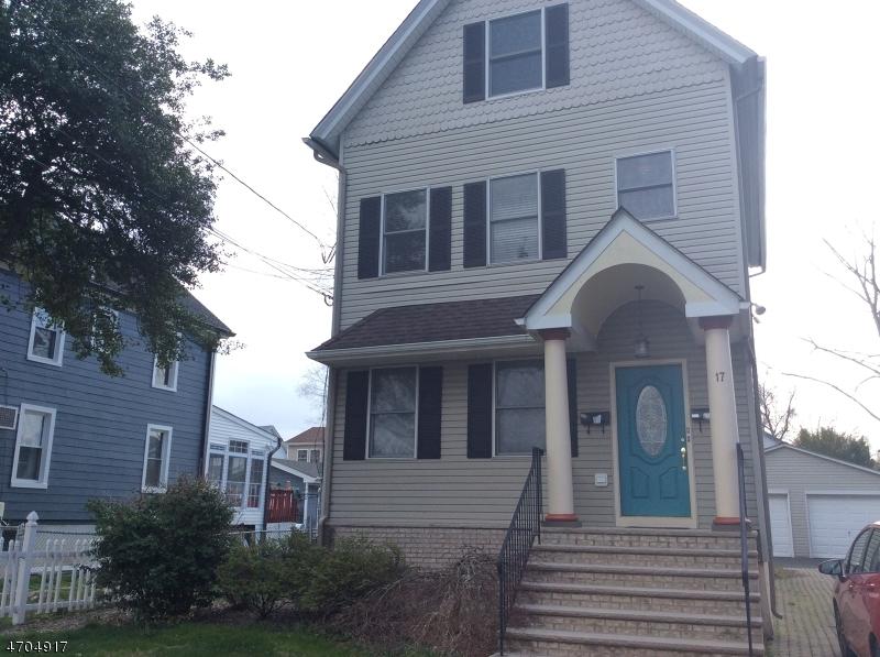 Частный односемейный дом для того Аренда на 17 Burnside Place Cranford, Нью-Джерси 07016 Соединенные Штаты