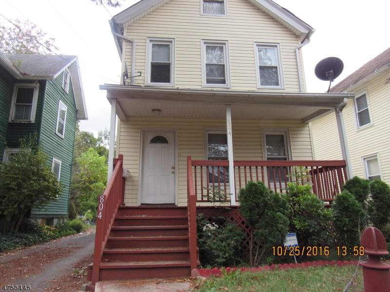 Single Family Home for Rent at 804 E 2nd Street Plainfield, New Jersey 07062 United States