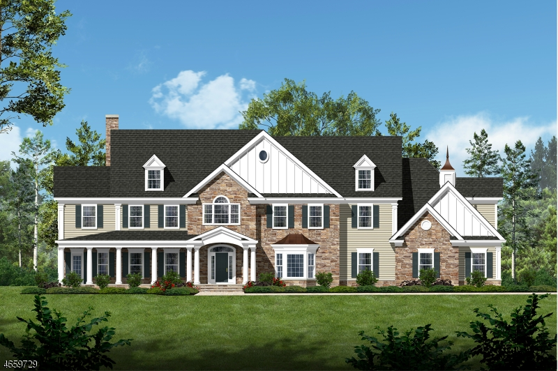 Maison unifamiliale pour l Vente à 224 Mountain Road Basking Ridge, New Jersey 07920 États-Unis