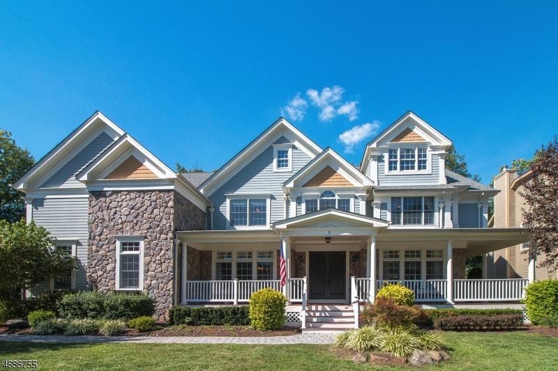 Частный односемейный дом для того Продажа на 5 Little Court Mountainside, Нью-Джерси 07092 Соединенные Штаты