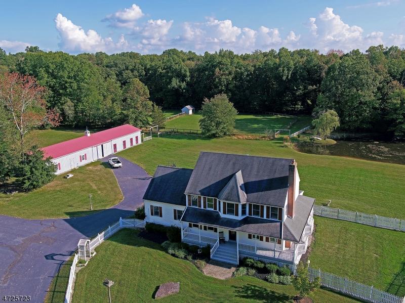 Casa Unifamiliar por un Venta en 27 Lockatong Road Kingwood, Nueva Jersey 08559 Estados Unidos