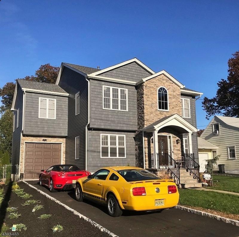 Частный односемейный дом для того Продажа на 36 ROSEDALE Avenue Clifton, Нью-Джерси 07013 Соединенные Штаты