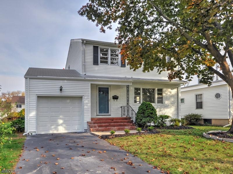 Частный односемейный дом для того Продажа на 506 3rd Avenue Garwood, 07027 Соединенные Штаты