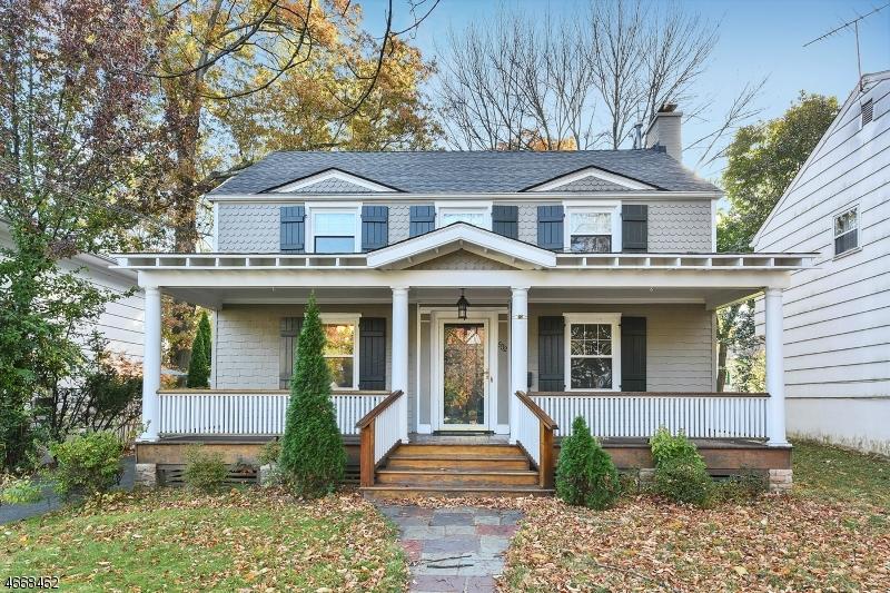 Частный односемейный дом для того Аренда на 532 Prospect Street Maplewood, Нью-Джерси 07040 Соединенные Штаты
