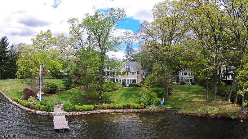 Частный односемейный дом для того Продажа на 28 LAKE Drive Mountain Lakes, Нью-Джерси 07046 Соединенные Штаты