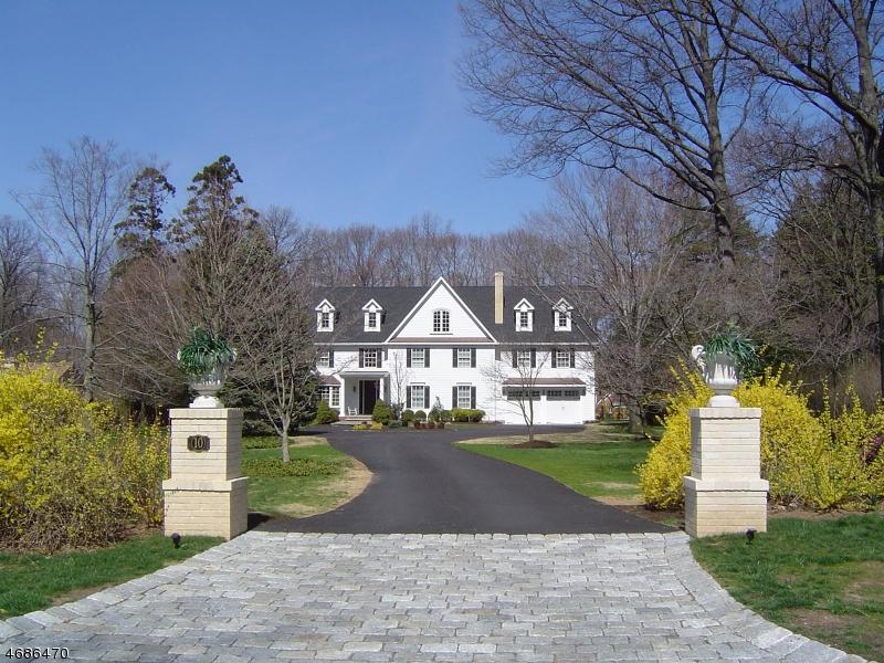 Частный односемейный дом для того Аренда на 10 Normandy Pkwy Morristown, Нью-Джерси 07960 Соединенные Штаты