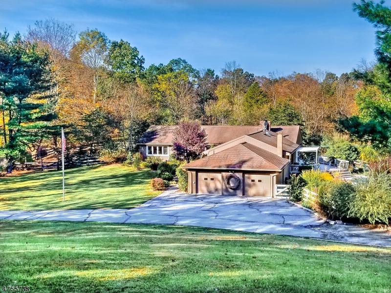 Частный односемейный дом для того Продажа на 5 Old Swartswood Station Fredon, Нью-Джерси 07860 Соединенные Штаты