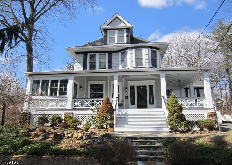 Частный односемейный дом для того Продажа на 60 Lakeside Avenue Verona, Нью-Джерси 07044 Соединенные Штаты