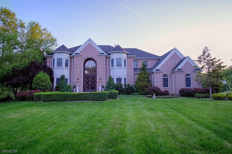 Maison unifamiliale pour l Vente à 5 RASPBERRY Trail Warren, New Jersey 07059 États-Unis