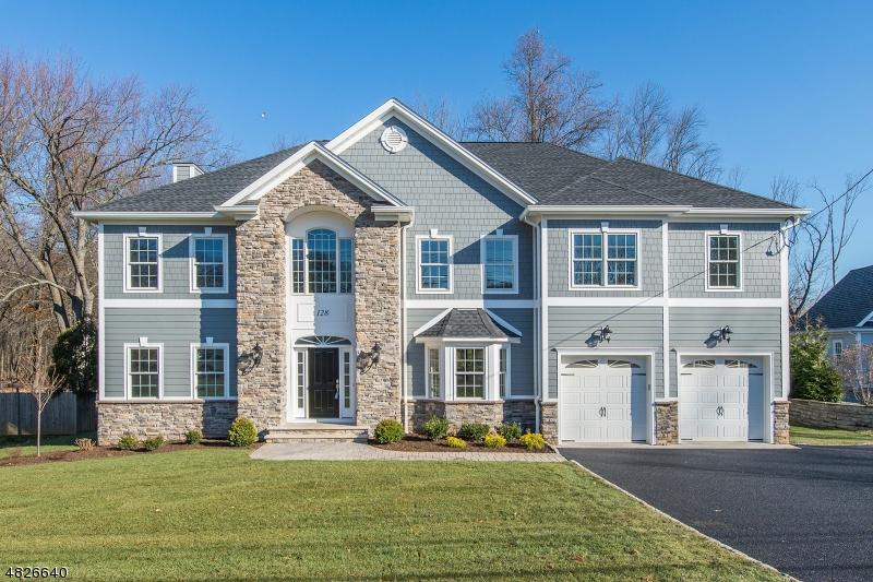 Частный односемейный дом для того Продажа на 128 CRESCENT Road Florham Park, Нью-Джерси 07932 Соединенные Штаты