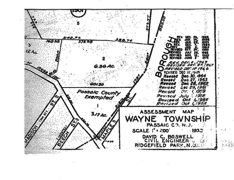 Land for Sale at 674 Preakness Avenue Wayne, 07470 United States