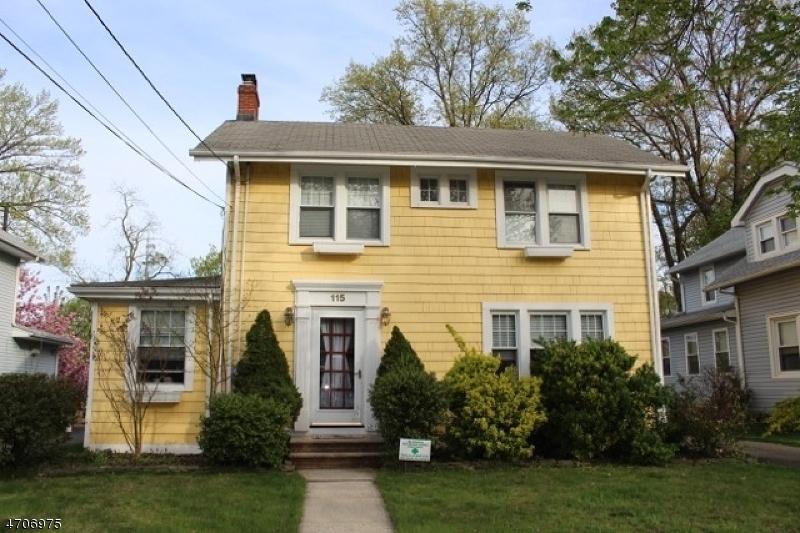 Частный односемейный дом для того Аренда на 115 S Union Avenue Cranford, Нью-Джерси 07016 Соединенные Штаты