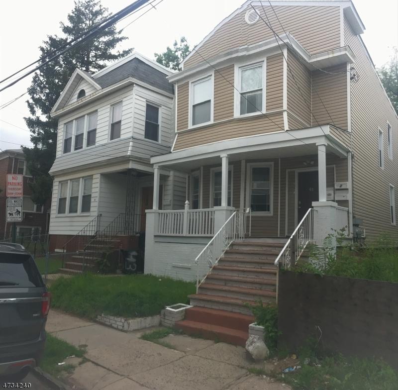 Maison unifamiliale pour l à louer à 43 Maple Avenue Irvington, New Jersey 07111 États-Unis