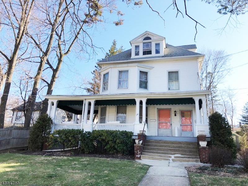 Частный односемейный дом для того Продажа на 140 S MORRIS ST A B Dover Township, Нью-Джерси 07801 Соединенные Штаты