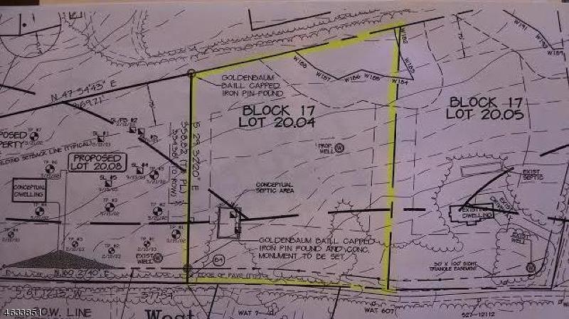 Terrain pour l Vente à 166 Rock Rd W Lambertville, New Jersey 08530 États-Unis
