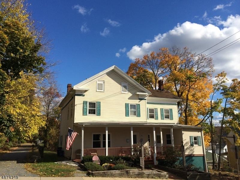 Частный односемейный дом для того Продажа на 78 Main Street High Bridge, 08829 Соединенные Штаты