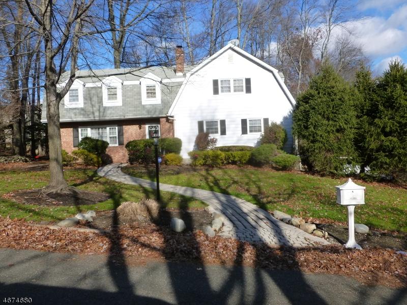 Частный односемейный дом для того Продажа на 7 Colonial Heights Drive Ramsey, Нью-Джерси 07446 Соединенные Штаты