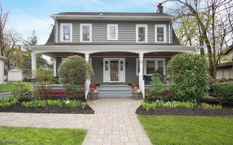 Частный односемейный дом для того Продажа на 82 Parker Avenue Maplewood, 07040 Соединенные Штаты