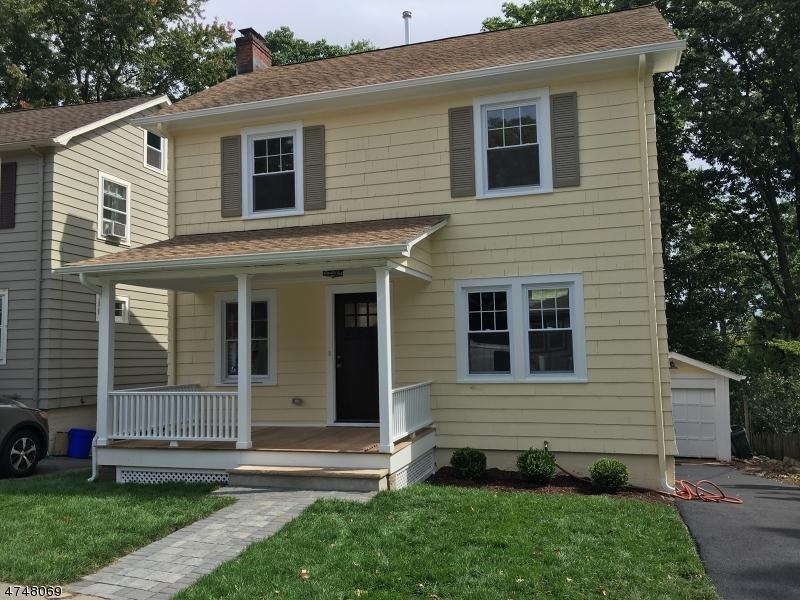 Частный односемейный дом для того Продажа на 45 High Street Glen Ridge, Нью-Джерси 07028 Соединенные Штаты