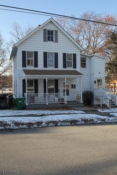 Flerfamiljshus för Försäljning vid 8 Sussex Street 8 Sussex Street Newton, New Jersey 07860 Usa