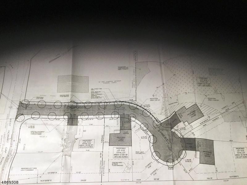 Земля для того Продажа на W HOBART GAP Road Livingston, Нью-Джерси 07039 Соединенные Штаты