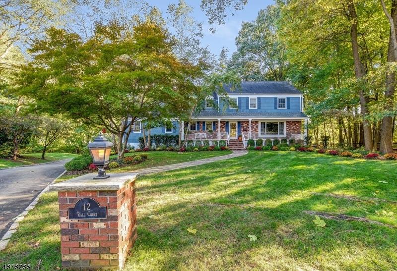 Частный односемейный дом для того Продажа на 12 RALL Court Roseland, Нью-Джерси 07068 Соединенные Штаты