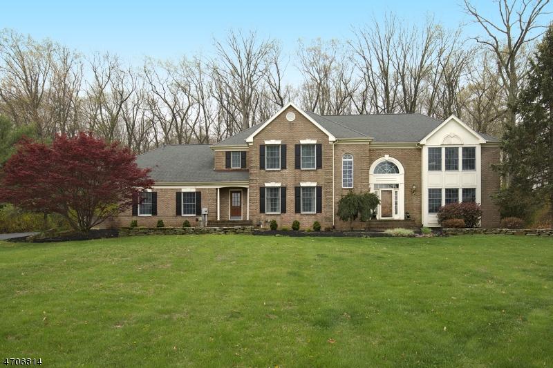 Частный односемейный дом для того Продажа на 37 Shy Creek Road Pittstown, 08867 Соединенные Штаты