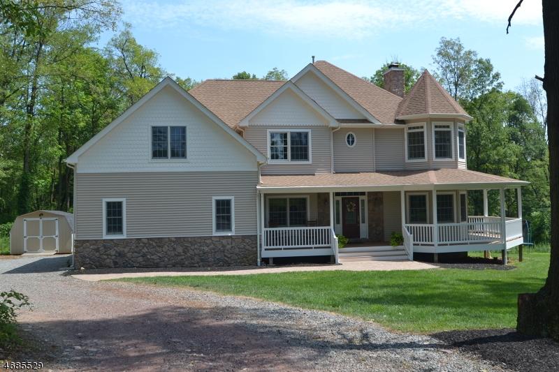 Частный односемейный дом для того Продажа на 4 Harley Court Asbury, Нью-Джерси 08802 Соединенные Штаты