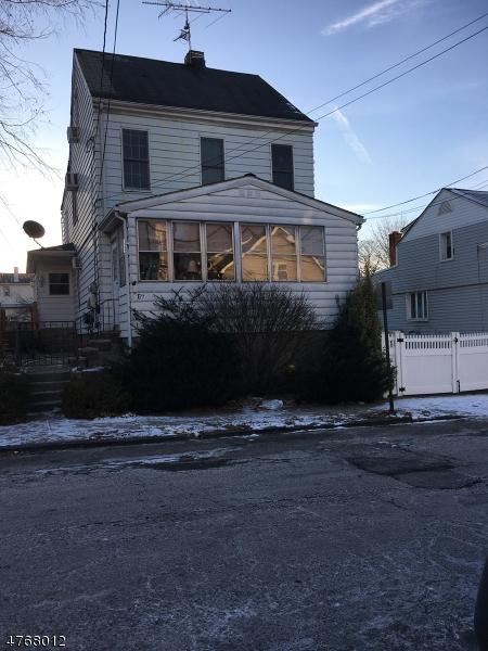 Частный односемейный дом для того Аренда на 265-267 PATERSON Avenue Paterson, Нью-Джерси 07502 Соединенные Штаты