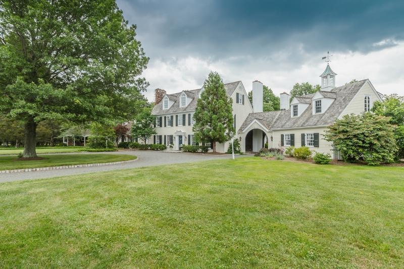 獨棟家庭住宅 為 出售 在 270 Cedar Ridge Road Bedminster, 新澤西州 07921 美國