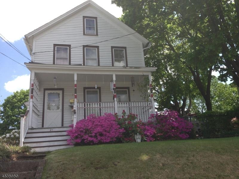 Maison avec plusieurs logements pour l Vente à 21 Sussex Street Newton, New Jersey 07860 États-Unis