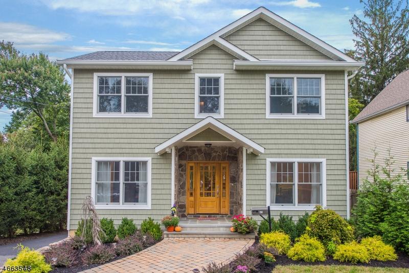 Частный односемейный дом для того Продажа на 45 Airmount Avenue Ramsey, Нью-Джерси 07446 Соединенные Штаты