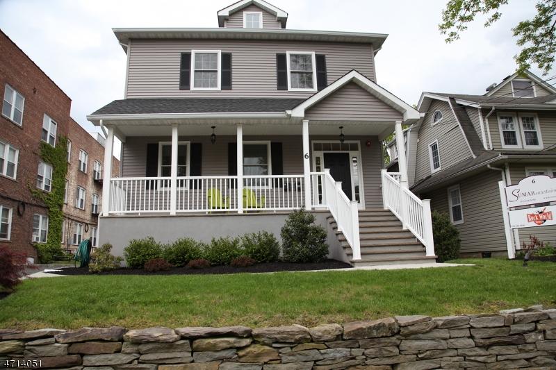 独户住宅 为 出租 在 6 Washburn Place Caldwell, 新泽西州 07006 美国