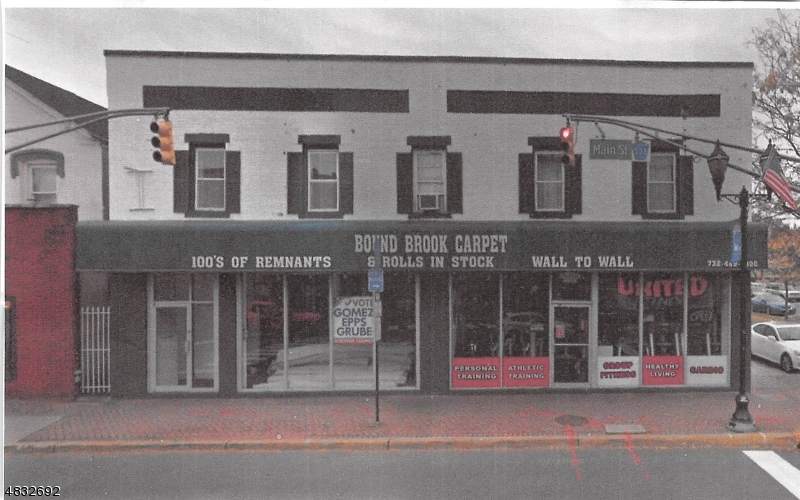 Commercial for Sale at 198 E MAIN Street Bound Brook, New Jersey 08805 United States
