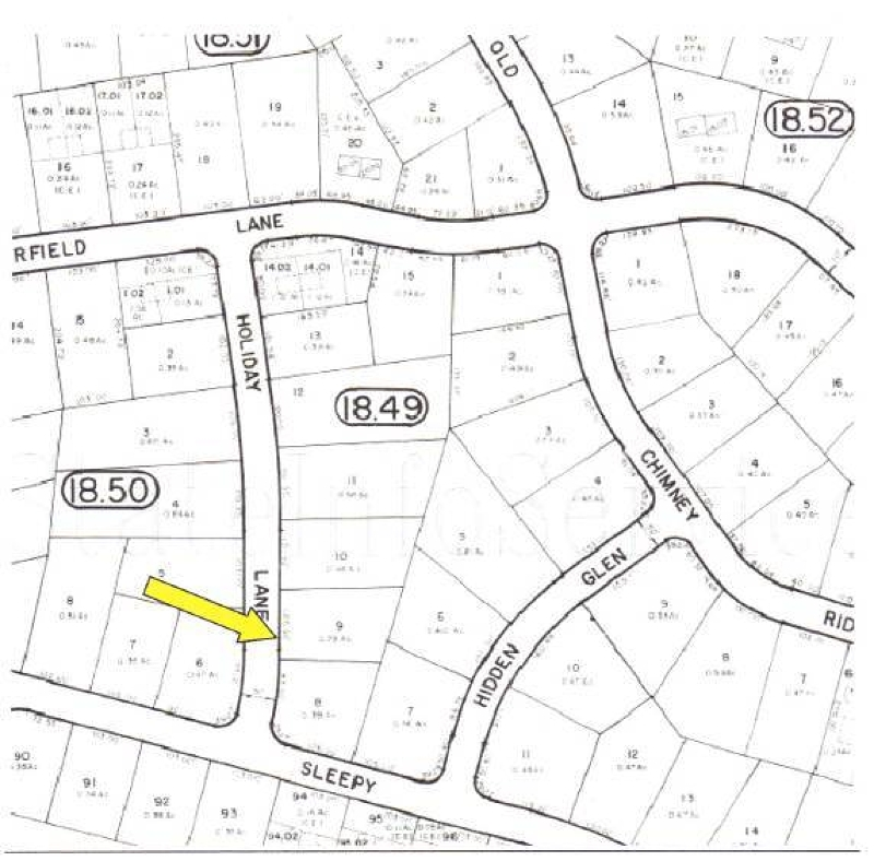 Land for Sale at 109 HOLIDAY Lane Montague, New Jersey 07827 United States