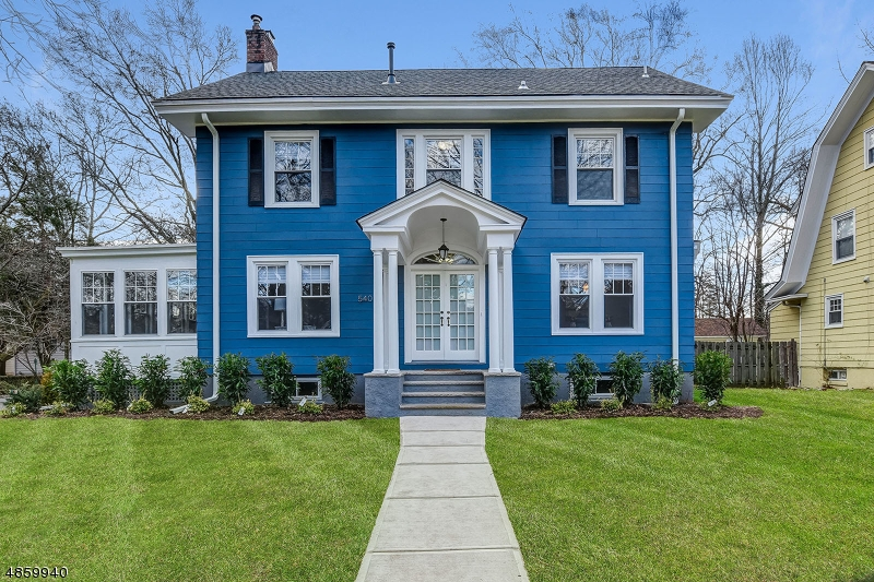 Single Family Home for Sale at 540 PAGE TER South Orange, New Jersey 07079 United States