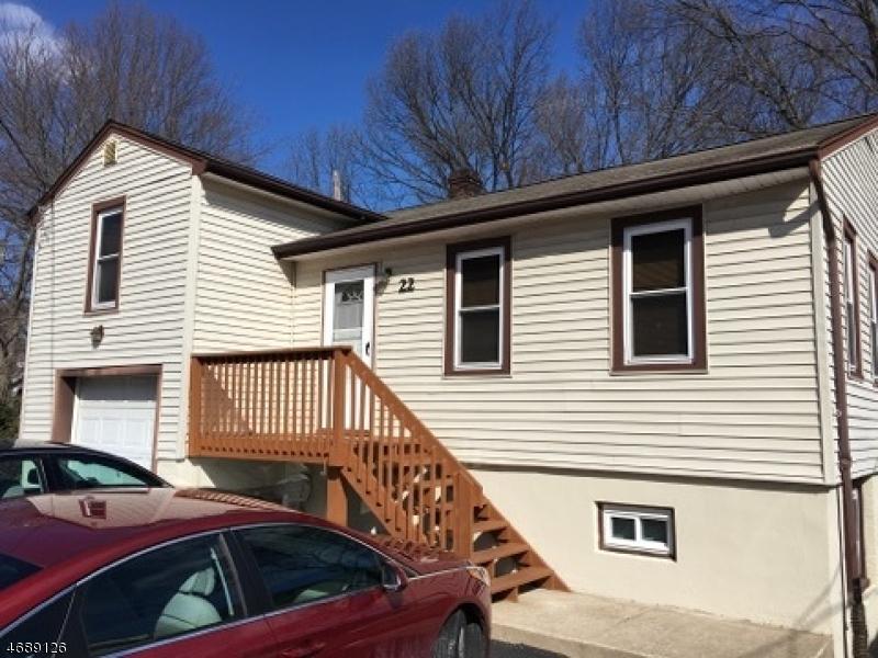 Частный односемейный дом для того Аренда на 22 Terrace Avenue Butler, Нью-Джерси 07405 Соединенные Штаты
