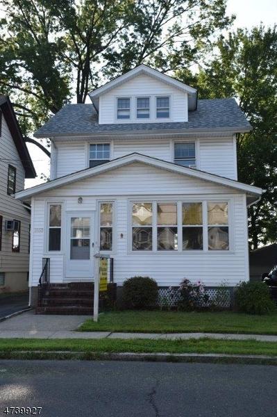 独户住宅 为 销售 在 1663 Edmund Ter Union, 新泽西州 07083 美国