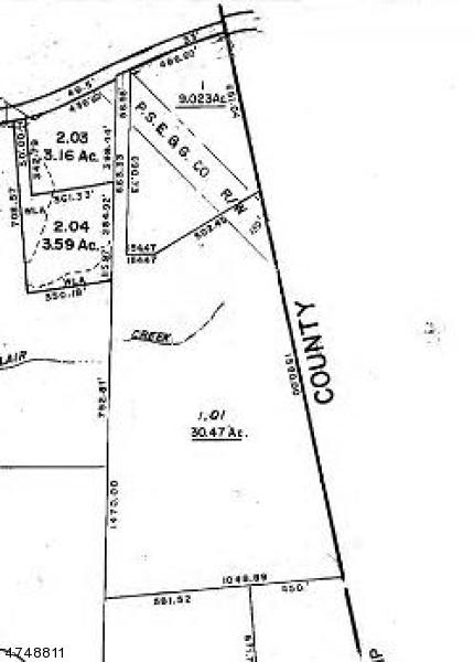 Terrain pour l Vente à 64 Sand Pond Road Hardwick, New Jersey 07825 États-Unis