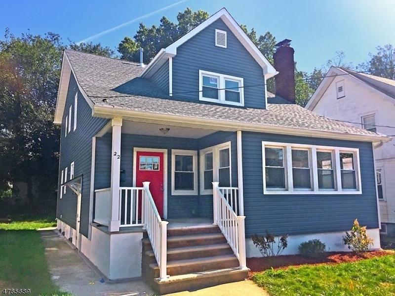 独户住宅 为 出租 在 22 Fernwood Road Maplewood, 新泽西州 07040 美国
