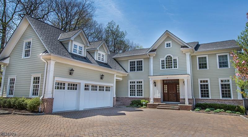 独户住宅 为 销售 在 20 Candace Lane 查塔姆, 07928 美国