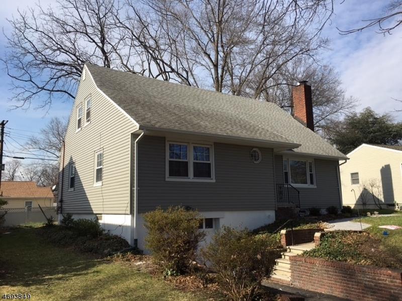 Частный односемейный дом для того Продажа на 821 Midwood Drive Rahway, Нью-Джерси 07065 Соединенные Штаты